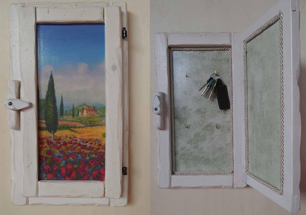 Quadro finestra decoupage antonella menicagli - Quadro finestra ...